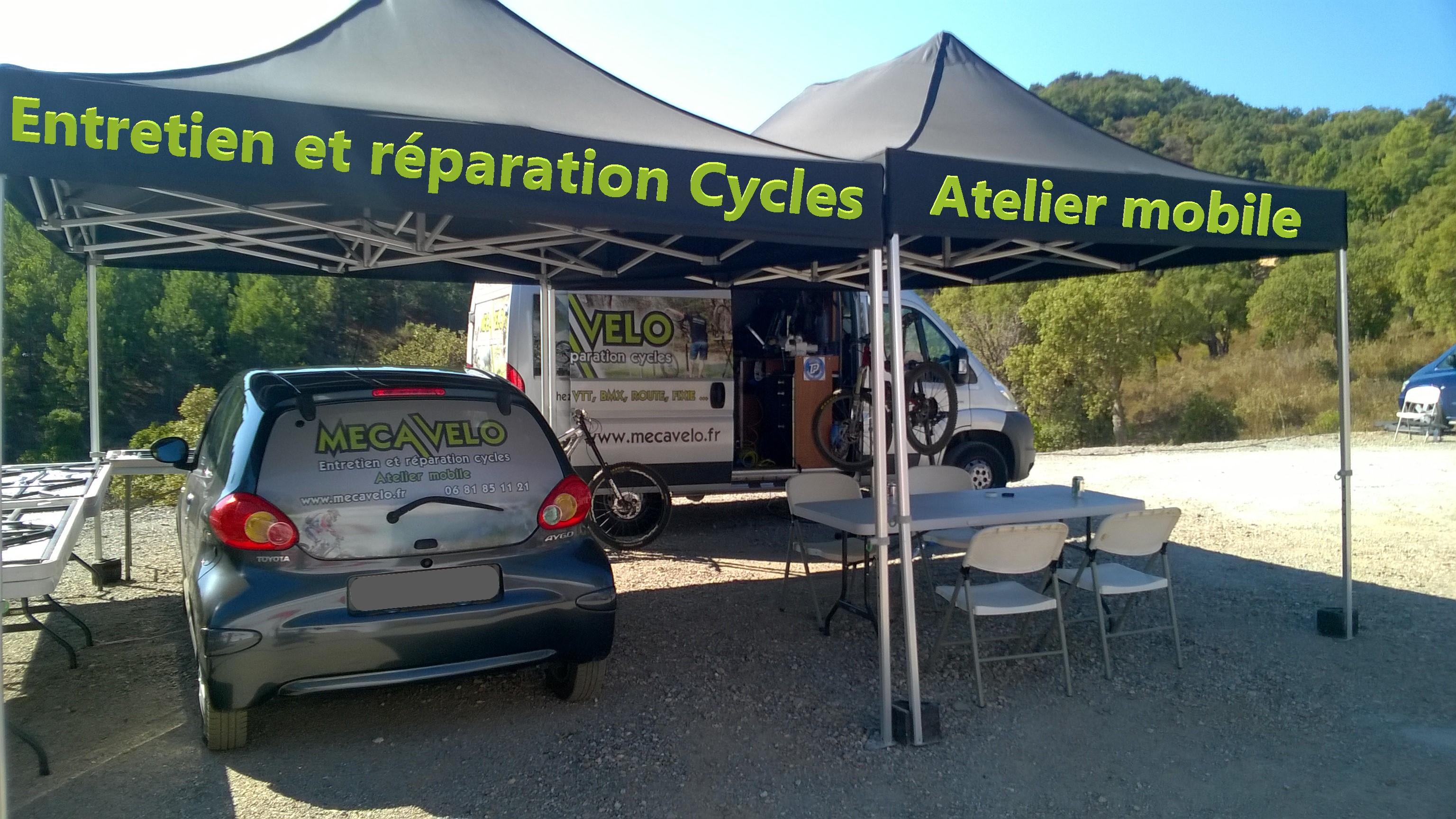 Entretien et réparation cycles